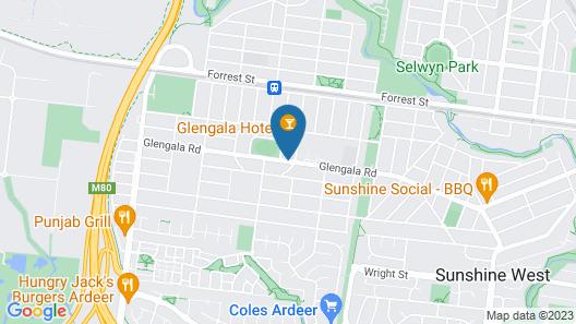 Nightcap at Glengala Hotel Map
