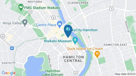 VR Hamilton Map