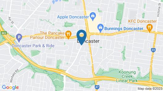 Australian Home Away @ Doncaster Elgar Map