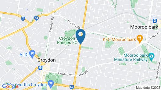 Bungunyah Apartments Map