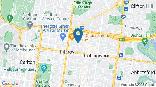 Boutique Stays – Loft on Rose Map