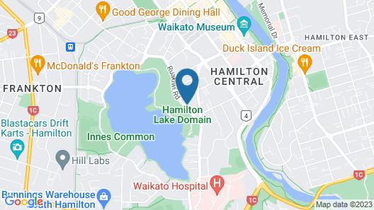 Central Lake Hamilton Map