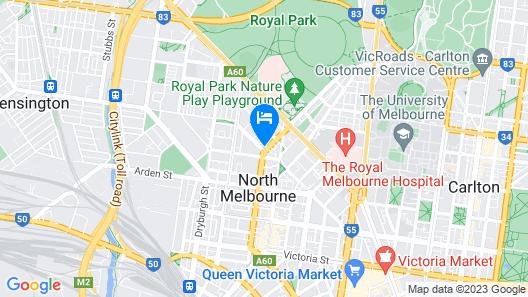 Work Sleep Live Melbourne Map