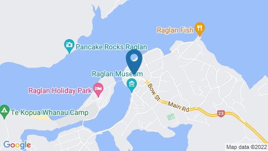 Raglan Harbour View Hotel Map