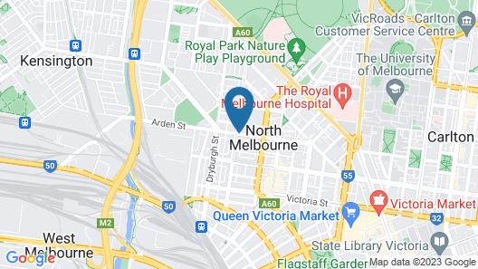 Plum North Melbourne Map