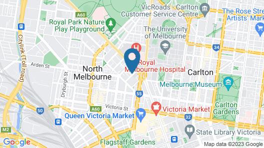 Turnkey Accommodation – North Melbourne Map