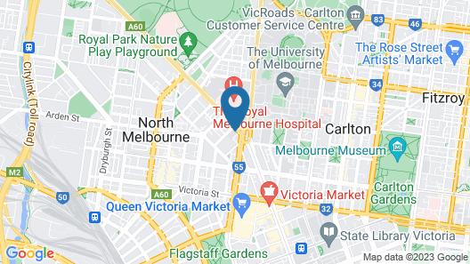 dwell Village Melbourne City Map