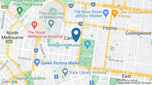 Carlton Terrace Map