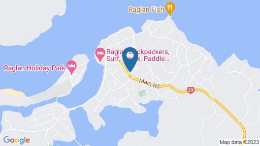 Longitude Apartments - Raglan Map