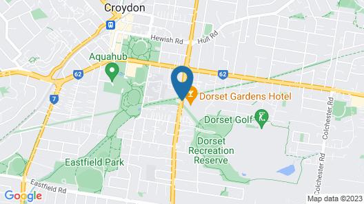 Dorset Gardens Hotel Map