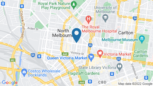 Q Squared Serviced Apartments Map