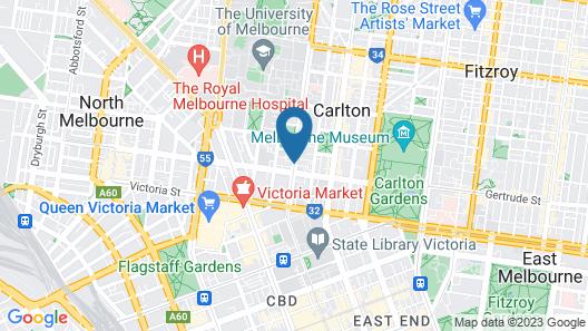 ibis Melbourne Swanston Street Hotel Map