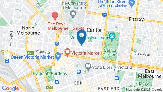 Plum Carlton Serviced Apartments Map