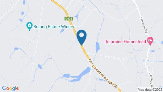 Langbrook Estate Cottages Map
