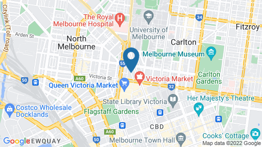 Australian Home Away @ Market Square Melbourne Map
