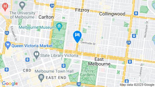 Melbourne Metropole Central Map