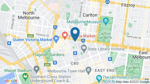 Modern 9 Verve Boutique Apartment Map