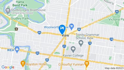Beaumont Kew Map