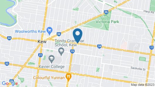 Hotel 115 Map