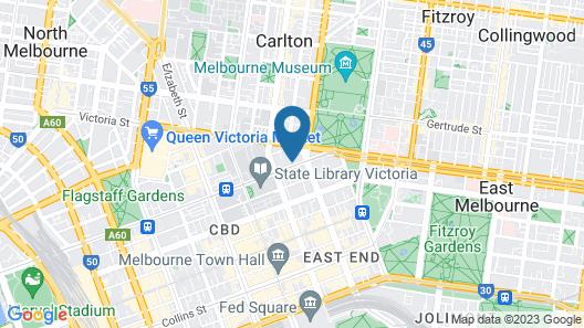 AKOM Melbourne Map