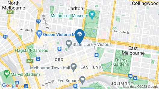 Fraser Place Melbourne Map
