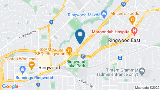 Ringwood Lake Inn Map