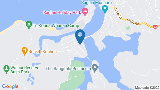 Raglan Palm Beach Motel Map