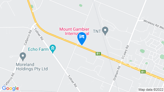 Country Comfort Mount Gambier Map
