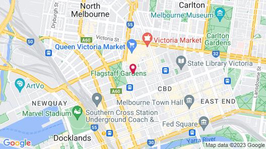 Pegasus Apart'Hotel Map