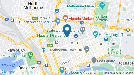 Platinum City Serviced Apartments Map
