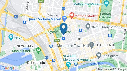 The Jazz Corner Hotel Map