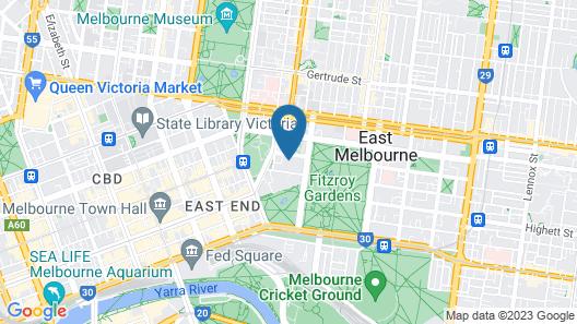 Park Hyatt Melbourne Map