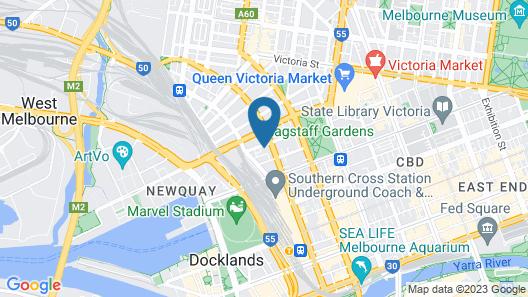 IFSuites Melbourne Village Map