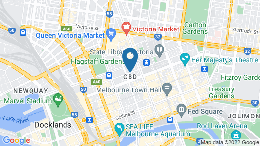 Novotel Melbourne Central Map