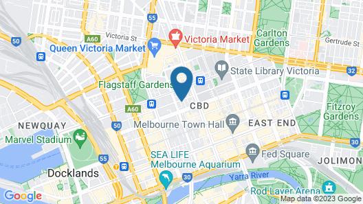 ibis Melbourne Central Map