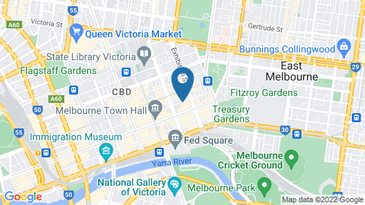 Stamford Plaza Melbourne Map