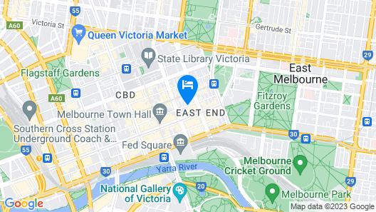 Stamford Plaza Melbourne Map