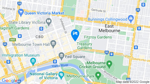 Sofitel Melbourne On Collins Map