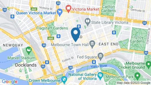 YTI Garden Hotel Map
