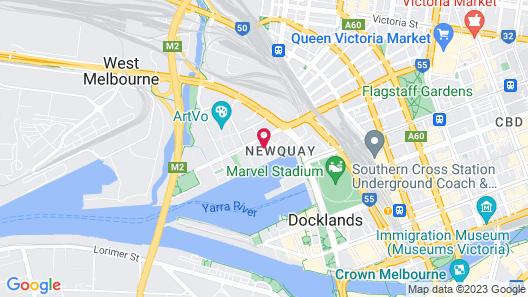 The Sebel Residences Melbourne Docklands Map