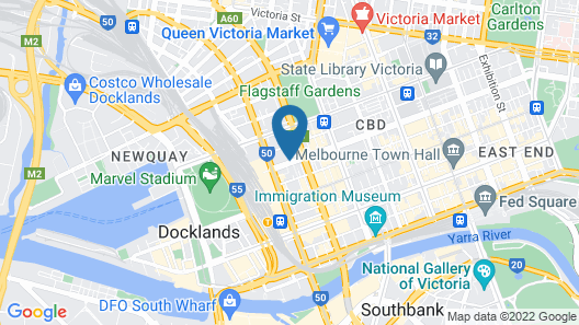 City Tempo - Lonsdale St Map