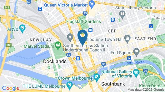 SSP - Upper West Side Map