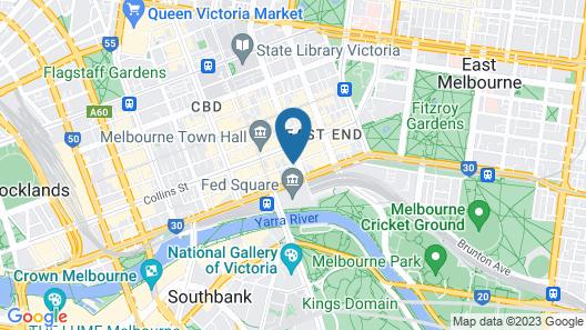 Flinders Landing Apartments Map