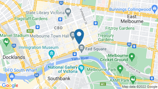 Adelphi Hotel Map