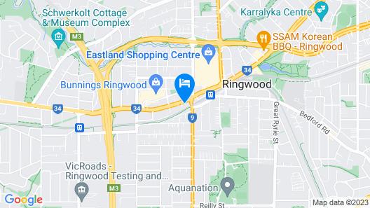 The Sebel Melbourne Ringwood Map