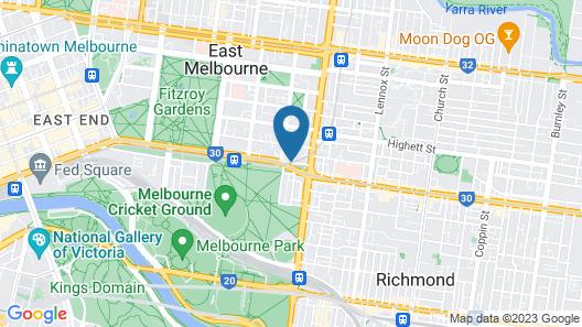 Quest East Melbourne Map