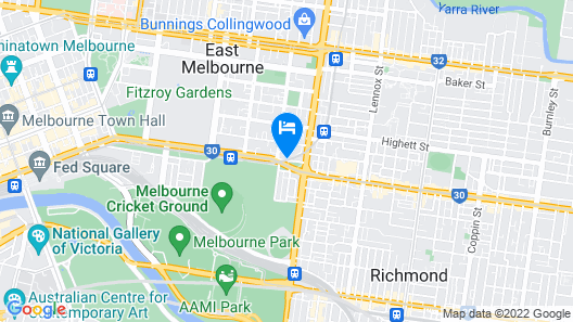 Quest East Melbourne Map