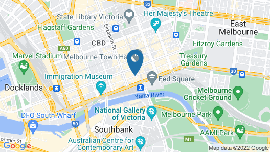 Flinders Lane Apartments formally Melbourne City Stays Map