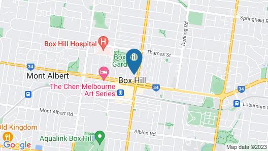 City Edge Box Hill Map