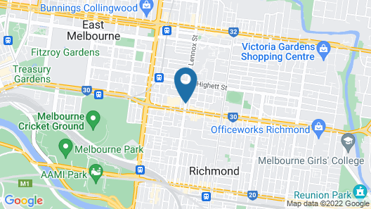 Adara Richmond Map